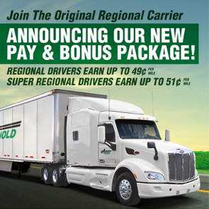 ... A NEW Pay Increase, NEW Stop Pay, And A \$3K Sign On Bonus Thatu0027s Paid  Out Weekly! Apply Today For Your NEW Driving Career With Arnold  Transportation!